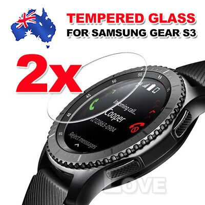 2x Tempered Glass Screen Protector for Samsung Gear S2 S3 Frontier S2 Classic 3G