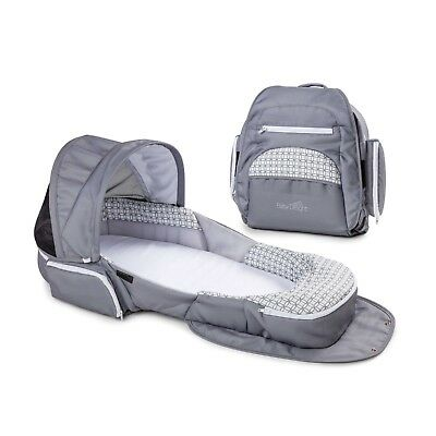 Baby Delight® Snuggle Nest® Traveler Portable Infant Sleeper in Grey Diamond