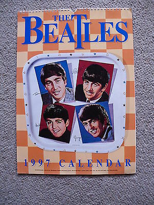 "The Beatles ""calendar 1997 / Kalender"" [*rar* Bilder Poster Mccartney Lennon]"