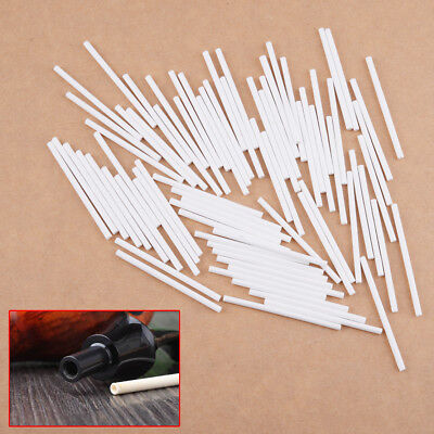 100Pcs Standard 3mm Tobacco Smoking Pipe Paper Filter for Pleasant Dry Smoke 5cm