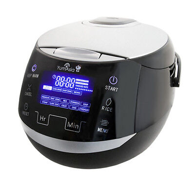 Sakura Micom Fuzzy Logic Ceramic Rice Cooker (YUM-EN15) by Yum Asia, 1.5L - UK/