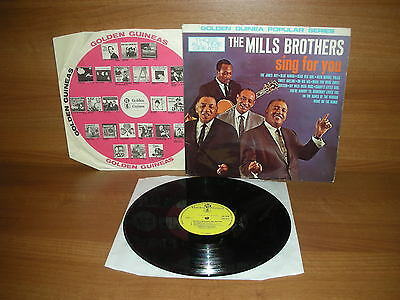 The Mills Brothers : Sing For You : Vinyl Album : Golden Guinea : GGL 0312