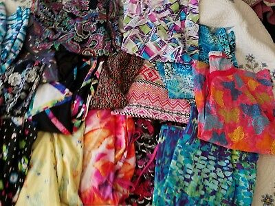 HUGE Lot of Scrubs Size 2X and 3X Twenty Eight Total Pieces!