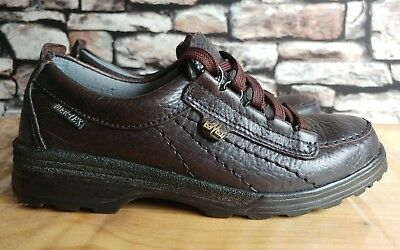 Lomer Mer-Tex Brown Leather Walking/hiking Shoes Womens Uk Size 5