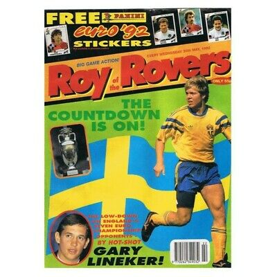 Roy of the Rovers Comic May 30 1992 MBox2798 The countdown is on! - Gary Lineker
