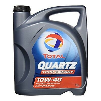 Total Quartz 7000 Energy 10W-40 Motoröl, 5 Liter Mb 229.1 Vw 501.01 / 505.00