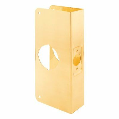 Prime-Line Products U 9540 Door Reinforcer 1-3/8-Inch Thick by 2-3/8-Inch