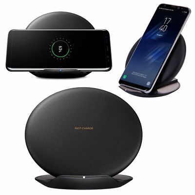 Samsung Fast Wireless Charger Stand Convertible Charging Pad For Galaxy S8 / S8+