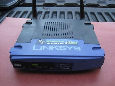 Linksys wrt54g information page.