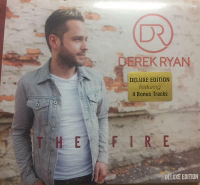 DEREK RYAN - THE FIRE (Deluxe Edition 4 Extra Tracks) NEW (2017) CD