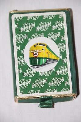 Chicago North Western Railroad Playing Cards Vintage