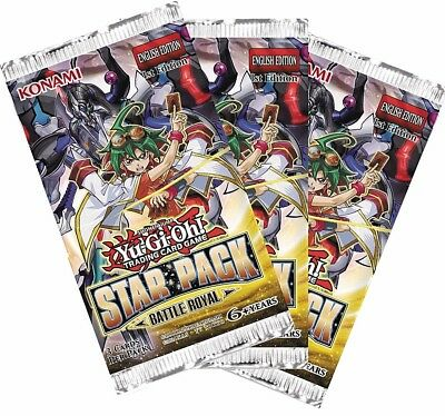 Yu-Gi-Oh! Star Pack Battle Royal Booster (Pack of 3)