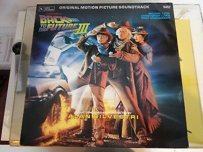 Back To The Future III - Original Motion Picture Soundtrack, LP, Europe 1990