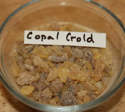 25gr  COPAL GOLD RESIN INCENSE (SOUTH AMERICA)