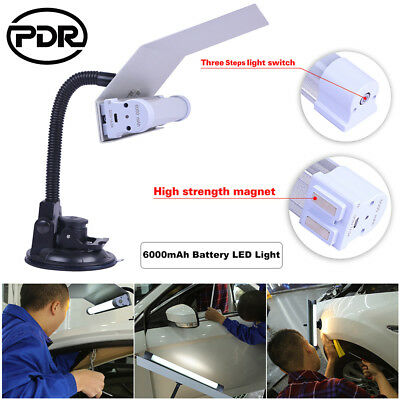 PDR Paintless Dent Repair LED Light Scratch Doctor 6000mAh Battery Adjustable