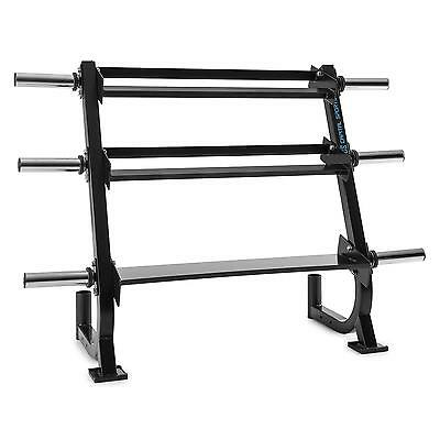 153.5 x 105 x 58 cm DUMBELL WEIGHT PLATES BARBELL STORAGE RACK GYM *FREE P&P*