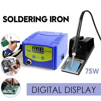 75W Soldering Iron Solder Rework Station Variable Temperature Display YCD-938D