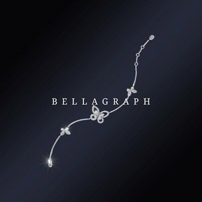 2 carats natural diamond bracelet custom-made by Bellagraph in Graff design