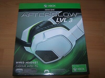 NEUF - Casque filaire afterglow LVL 3 pour Xbox one
