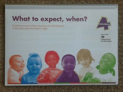 What To Expect, When? EYFS, Nursery, Childminding, Ofsted, CHEAPEST on Ebay.