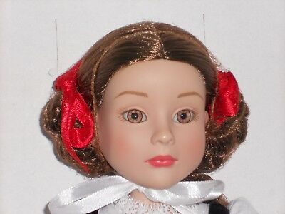 "Tonner Flexi-pose ""WHAT BIG EYES YOU HAVE"" Little Red Riding Hood doll"