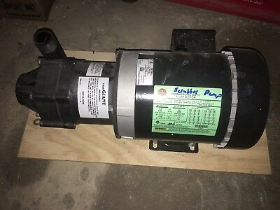 MAGNETIC DRIVE CHEMICAL PUMP  TE-7-MD-CK Little Giant, 3/4 HP 230/460V, 3 phase