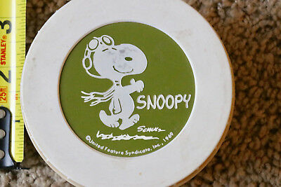 Vintage 1969 Snoopy Peanuts Thermos For Lunchbox