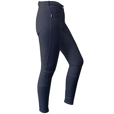 "Ladies John Whitaker Horbury Black Breeches Size 10 (28"" Waist)"