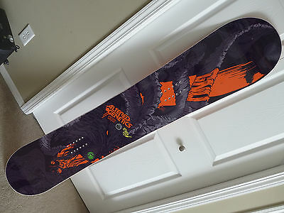 Gnu Altered Genetics Snowboard 155 NEW Mens C2 BTX Banana Freeride MagneTraction