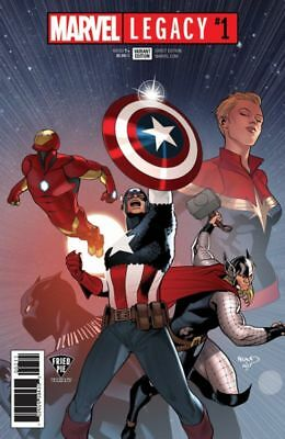 Marvel Legacy #1 Fried Pie Color Variant Paul Renaud Avengers Captain America