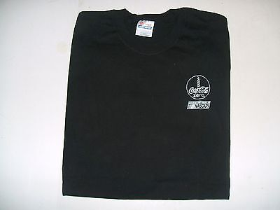 Black Coca-Cola  Zero T-Shirt XL