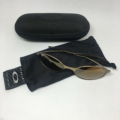 1577b72b01 E-Wire 1.0 Dark Gold Iridium Vintage Sunglasses Rare 1st Generation Made in  USA