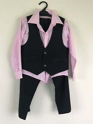 Dennis Tang Boys Size 4 Dinner Suit Three Piece Wedding Pageboy
