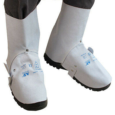 AP-9300 15cm Economical Leather Welding Leggings and Spats /Shoe Cover Protector