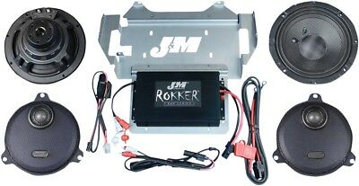 J & M Rokker XXR Extreme 2 Speaker And Amplifier Kit XXRK330SP214SG