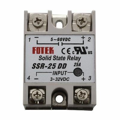 SSR-25DD Single Phase Solid State Module Relay 25A DC 5-60V WS J5W1
