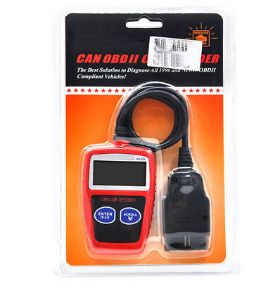 OBDII Car Fault Diagnostic Code Reader Engine Scanner Reset Tool Retrieve VIN