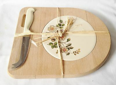 Marks and Spencer Autumn Leaves Cheese Board -  Tile Cheese Board