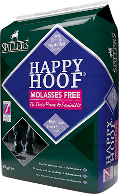 Spillers Happy Hoof Molasses Free 20Kg Horse Food Free Delivery     *free P&p*