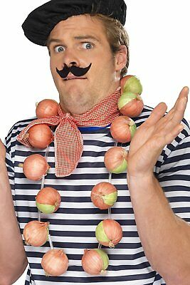 french onion  garland  ,   fancy dress accessories