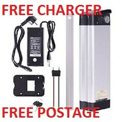 NEW  36V 10.4 Ah  E bike battery with FREE CHARGER