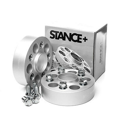 Stance+ 40mm Alloy Wheel Spacers (5x120) 72.5 BMW 5 Series E34