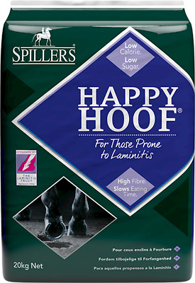 Spillers Happy Hoof Fibre Horse Feed For Laminitis Prone Horse & Ponies 20Kg