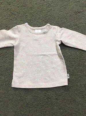 Baby Girls Long Sleeved Top Size 000 EUC