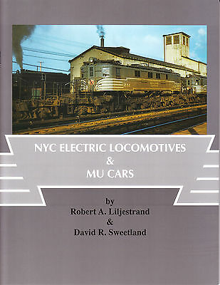 New York Central Locomotives and MU Cars Railroad Book