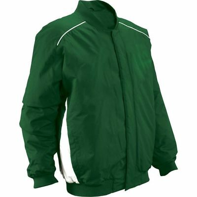 Russell Athletic Adult Full Snap Baseball Jacket