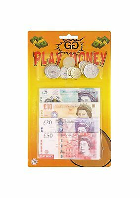 Coins Role Play At Shops&childrens Kids Pretend Fake Toy Play Money Notes