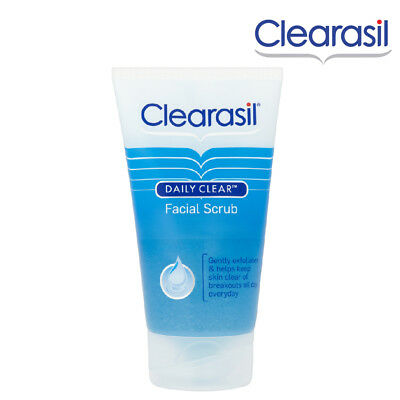 Clearasil Facials Scrub 150ml With Mini Beads Helps Keep Skin Clear Of Breakouts