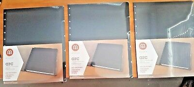 Staples ARC Notebook Tab Dividers Black 9 x 11  New, never opened Set of 15