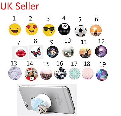 New Stand Expanding Phone Grip Holder for IPhone Samsung Galaxy Sony LG Huawei